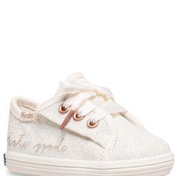 for kate spade new york Girls' Kickstart Glitter Crib Shoes (Infant) | Dillards