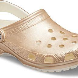 Crocs Champagne Classic Metallic Clog   Crocs (US)