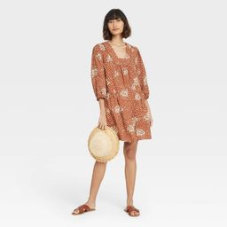 Women's Long Sleeve Shift Dress - Knox Rose™ | Target