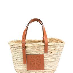 Loewe Basket Small Palm Tote Bag | Neiman Marcus