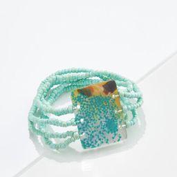 Mint Seed Bead Bracelet | Cato Fashions