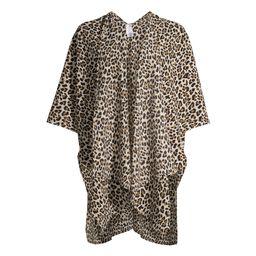 Time and Tru Women's Print Kimono | Walmart (US)