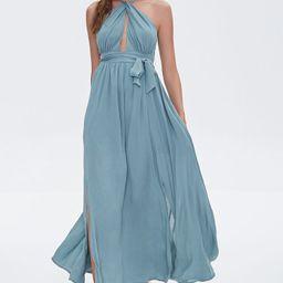 Keyhole Halter Maxi Dress | Forever 21 (US)