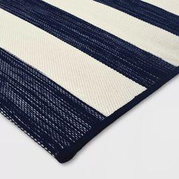Outdoor Rug Worn Stripe- Threshold™   Target
