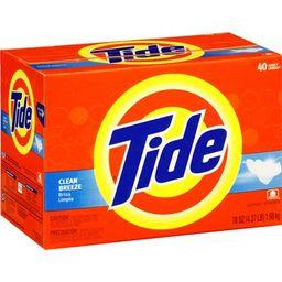 Tide Powder Laundry Detergent, Clean Breeze, 70 oz | Walmart (US)
