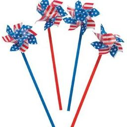 Stars and Stripes American Flag Pinwheels (Set of 26) for Fourth of July   Amazon (US)