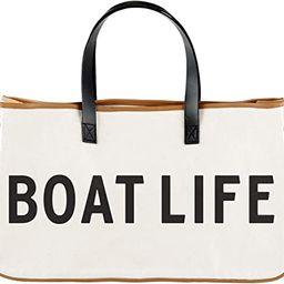 Santa Barbara Design Studio Hold Everything Canvas Tote, Large, Boat Life | Amazon (US)