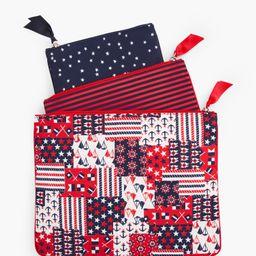 Stars & Stripes Wet-Dry Bag Set-3-Pack   Talbots