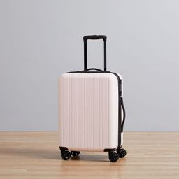 west elm Hardside Spinner Luggage - Pale Pink | West Elm (US)