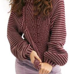 Sweetheart Mock Neck Sweater   Nordstrom