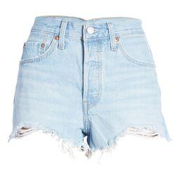 501® Original Cutoff Denim Shorts   Nordstrom