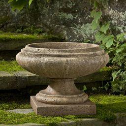 Nick Cast Stone Urn Planter   Wayfair North America