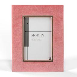 MoDRN 5x7 Glam Velvet Tabletop Frame, Multiple Colors | Walmart (US)