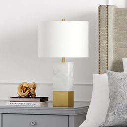 Evelyn&Zoe Cararra-Style Marble Table Lamp | Walmart (US)