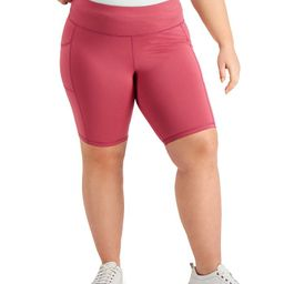 Plus Size Pull-On Bicycle Shorts, Created for Macy's | Macys (US)