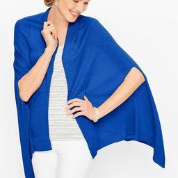 Linen Ruana Wrap - Solid | Talbots