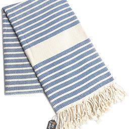 "100% Natural Cotton Turkish Throw Blanket 39"" x 71"", Turkish Beach Blankets and Throws, Thin Blan... | Amazon (US)"