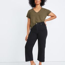 Slim Wide-Leg Jeans in Lunar Wash | Madewell