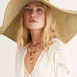 Shady Character Packable Wide Brim Hat | Free People (US)