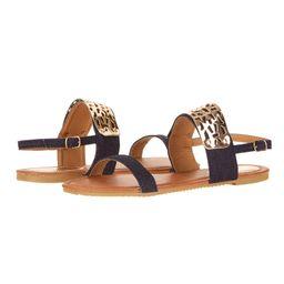 Victoria K Women's Gold Cuff Fashion Sandals | Walmart (US)