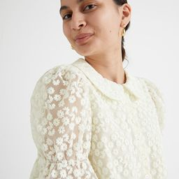 Floral Lace Blouse | & Other Stories
