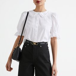 Ruffle Collar Puff Sleeve Blouse | & Other Stories