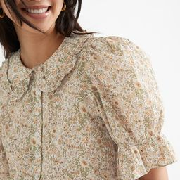 Floral Print Puff Sleeve Blouse | & Other Stories
