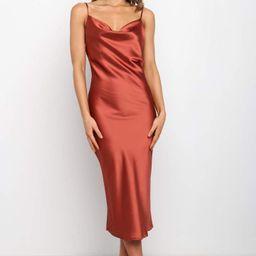 Persia Dress - Rust | Petal & Pup (US)