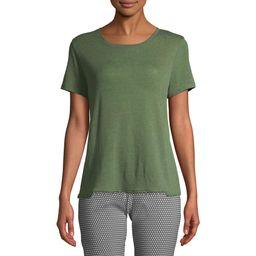 Women's Short Sleeve Pom Pom T-Shirt   Walmart (US)