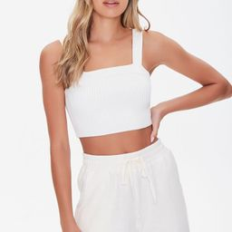 Sweater-Knit Crop Top   Forever 21 (US)