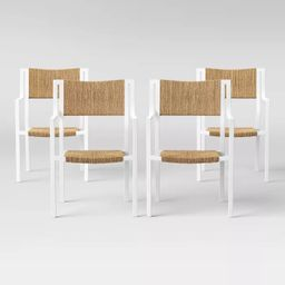 Buchanan Patio Dining Chair - White - Threshold™ | Target