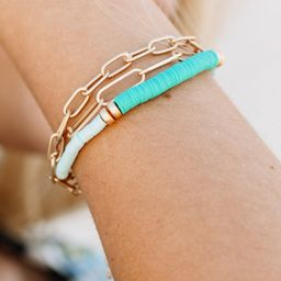Off Into The Sunset Blue Bracelet | The Mint Julep Boutique