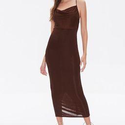 Cowl Neck Cami Midi Dress | Forever 21 (US)