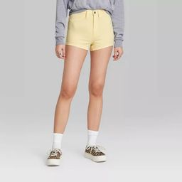 Women's High-Rise Jean Shorts - Wild Fable™ | Target
