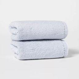 2pk Whip Stitch Border Hand Towel Set - Threshold™   Target