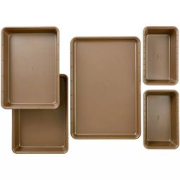 Wilton 5pc Ceramic Coated Non-Stick Bakeware Set   Target