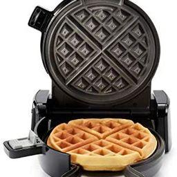 Oster 2110002 DiamondForce Vertical Waffle Maker, One Size, Dark Metallic | Amazon (US)