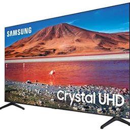 SAMSUNG 82-inch Class Crystal UHD TU-6950 Series - 4K UHD HDR Smart TV (UN82TU6950FXZA, 2020 Mode... | Amazon (US)