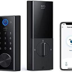 eufy Security Smart Lock Touch & Wi-Fi, Fingerprint Scanner, Keyless Entry Door Lock, Smart Wi-Fi... | Amazon (US)