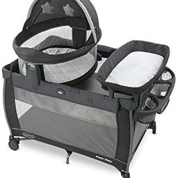 Graco Pack 'n Play Travel Dome LX Playard | Features Portable Bassinet, Diaper Changer, and Mor... | Amazon (US)