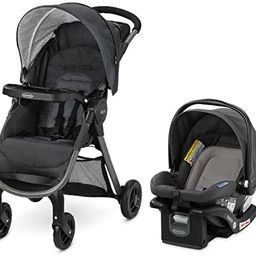 Graco FastAction SE Travel System | Includes Quick Folding Stroller and SnugRide 35 Lite Infant C... | Amazon (US)