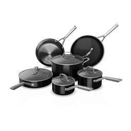 Ninja Foodi NeverStick 11pc Nonstick Cookware Set - Black   Target
