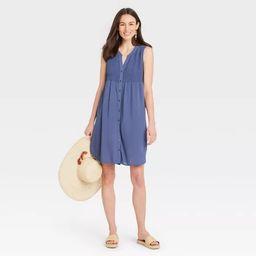 Women's Sleeveless Smocked Dress - Knox Rose™   Target