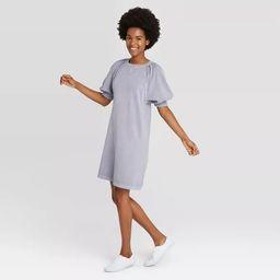 Women's Puff Short Sleeve T-Shirt Dress - Universal Thread™   Target