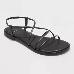 Women's Sierra Strappy Sandals - A New Day™ | Target