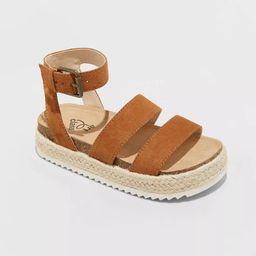 Girls' Agatha Buckle Footbed Sandals - art class™ | Target