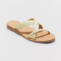 Women's Opal Strappy Slide Sandals - Universal Thread™ | Target
