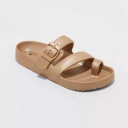 Women's Nola Toe Ring Slide Sandals - Shade & Shore™ | Target