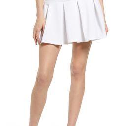 Women's Bp. Knit Tennis Skirt, Size Medium - White | Nordstrom