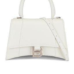 Small Hourglass Top Handle Bag   FWRD